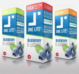 Uk Made E Liquid - Blueberry