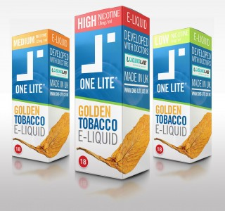 Uk Made E Liquid - Golden Tobacco