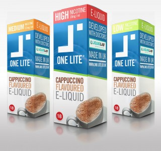 Uk Made E Liquid - Cappuccino Coffee