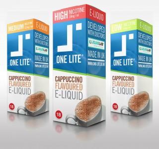Uk Made E Liquid - Cappuccino Coffee
