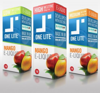 Uk Made E Liquid - Mango