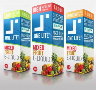 Uk Made E Liquid - Mixed Fruit