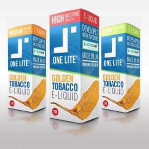 Uk Made E Liquid - Golden Tobacco E-liquid