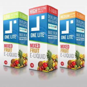 Uk Made E Liquid - Mixed Fruit