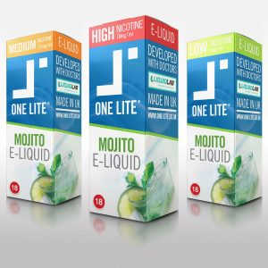 Uk Made E Liquid - Fresh Mojito