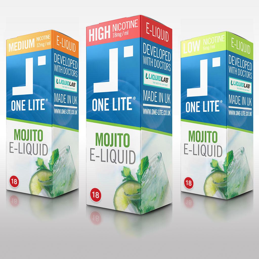 Uk Made E Liquid - Fresh Mojito